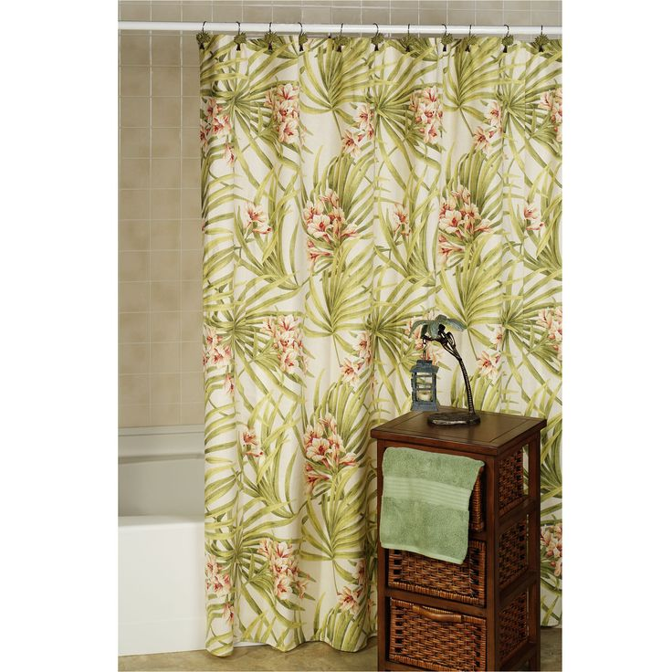 Sea Island Tropical Shower Curtain