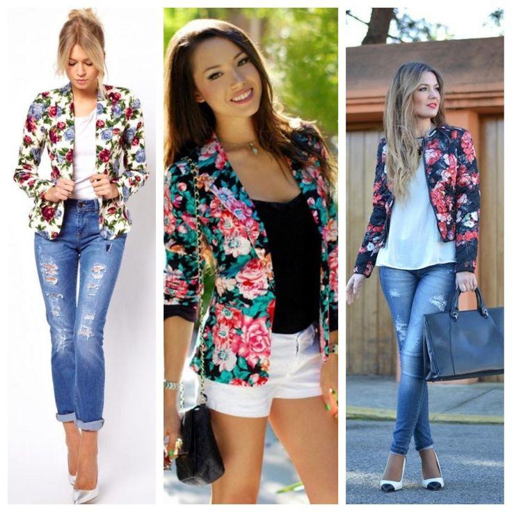 Звезды выбирают: пиджак с цветочным принтом / пиджак картинки 2017
