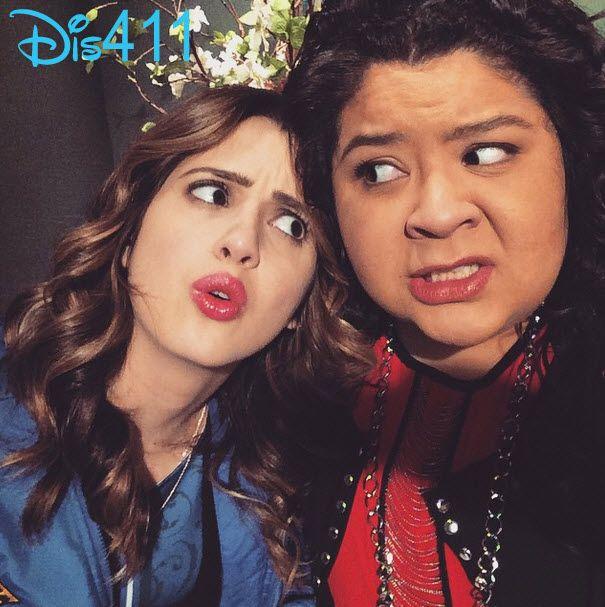 Photo: Raini Rodriguez With Laura Marano January 29, 2015 - Dis411