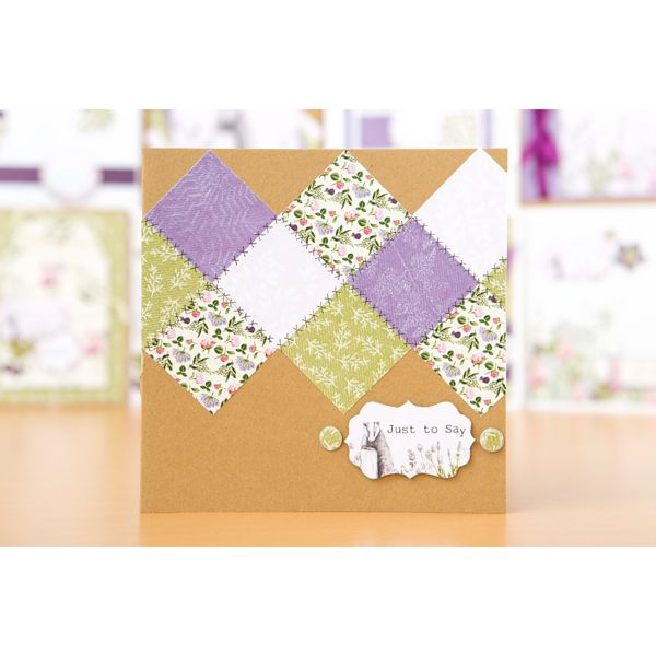 Craftwork Cards Hedgerow and Meadow Collections with Free 8x8 Cardstock Pack (402348) | Create and Craft