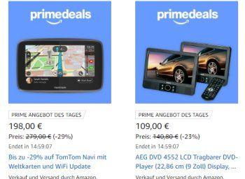 """Amazon: Schnäppchen rund um den """"Urlaub mit dem Auto"""" für Prime-Kunden https://www.discountfan.de/artikel/technik_und_haushalt/amazon-schnaeppchen-rund-um-den-urlaub-mit-dem-auto-fuer-prime-kunden.php Der """"Urlaub mit dem Auto"""" steht bei den heutigen """"Prime Deals"""" von Amazon im Vordergrund. Im Angebot sind Navis, tragbare DVD-Player, Autoradios und Freisprecheinrichtungen. Amazon: Schnäppchen rund um den """"Urlaub mit dem Auto"""" für Prime"""