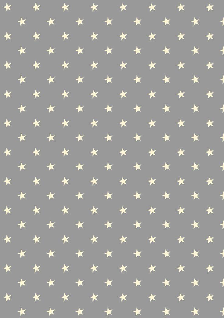 Free digital stars and polka dot scrapbooking papers - ausdruckbares Geschenkpapier - freebie | MeinLilaPark