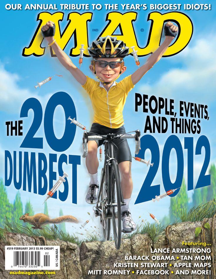 mad magazine   MAD Magazine 519 Cover #519