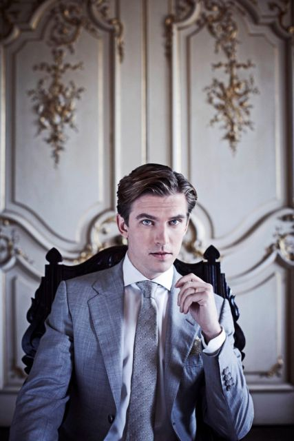 Cousin Matthew. Downton Abbey. I really hope he doesn't end up with Lady Mary. She is stupid and dumb and very stupid. Oh, and very dumb.