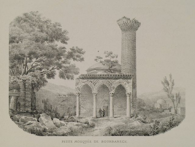 View of the Isabey Mosque in Selçuk, Asia Minor.1882
