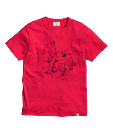 H&M T-shirt with a print $19.95