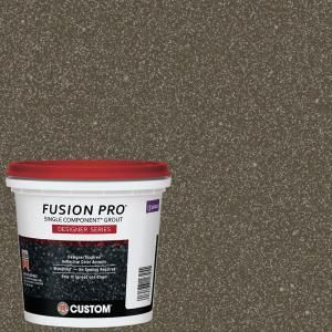 Custom Building Products Fusion Pro #549 Smoked Quartz 1 Qt. Designer Series Grout FPD549QT-4 at The Home Depot - Mobile