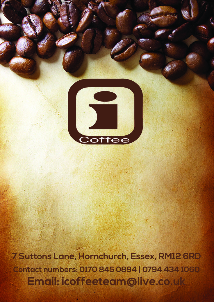 Contact details for iCoffee