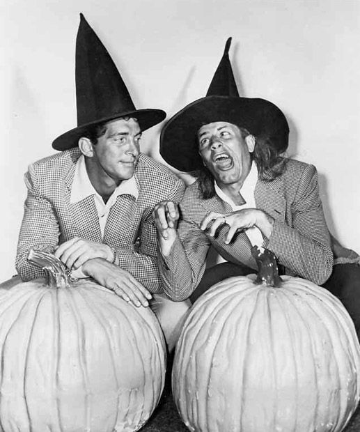 Dean and Jerry are getting in the mood for Halloween!