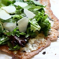 basil and goat cheese pizza | ºººKitchen dreamsººº | Pinterest