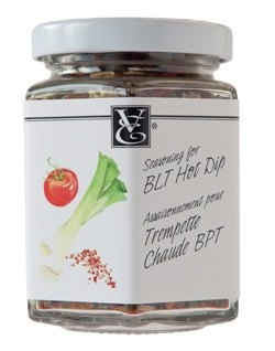 Seasoning for BLT Hot Dip (#bacon, leek & tomato) - yum! And it's vegetarian friendly :)