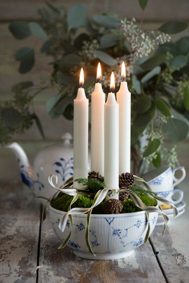 Make that beautiful serving bowl into a stunning decoration!