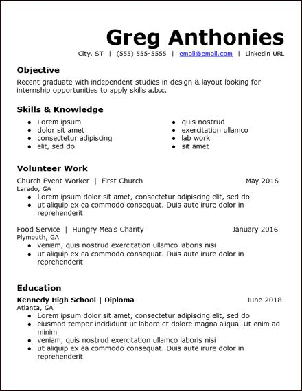 pin on resumes templates word free