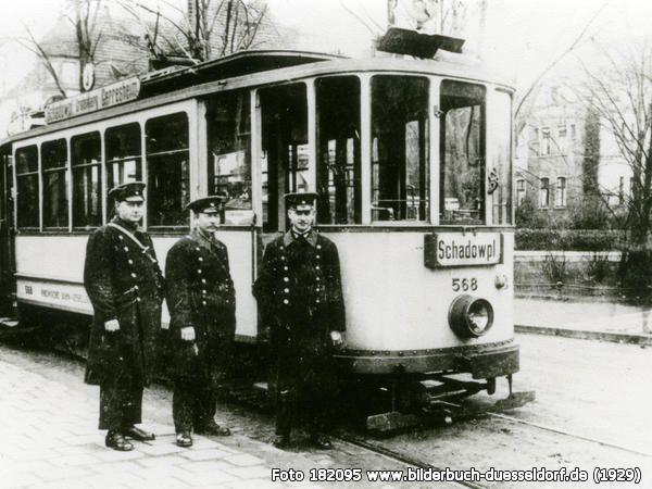 Strassenbahn, Heyestr., 40625 Düsseldorf - Gerresheim (1929)