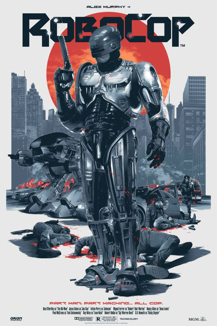 RoboCop Looks Better Than Ever in These Awesome New Posters