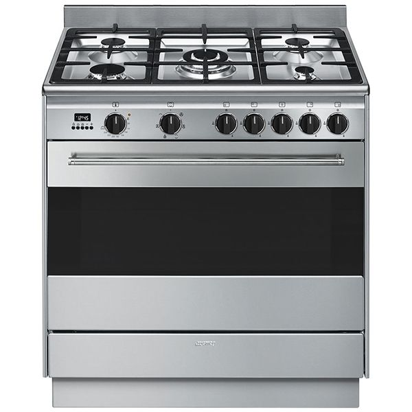 Smeg 90cm Termoseal Freestanding Cooker FS9606XSN | e&s - Kitchen, Bathroom & Laundry
