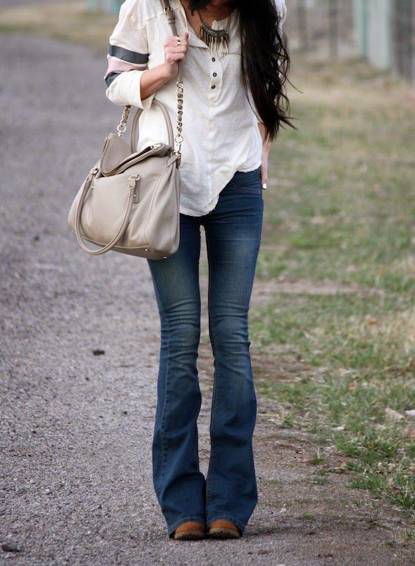 boho chic. not unique per say but liking these jeans!
