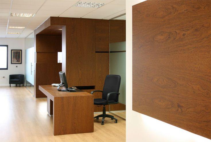 caja mueble en madera de sucupira despacho de abogados