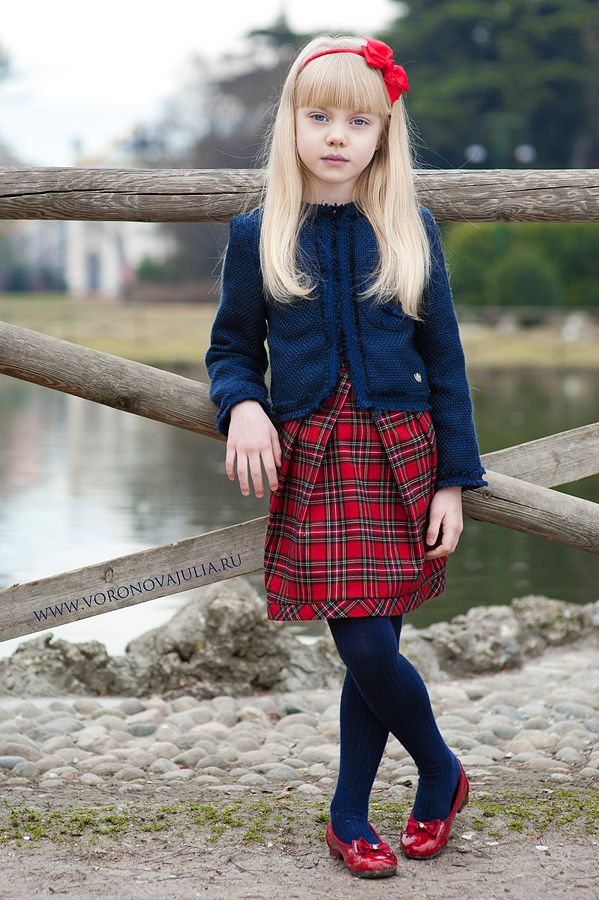 Fashion pictures young school girl — 5