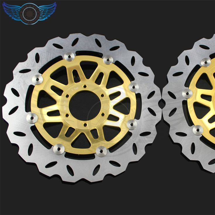 184.24$  Watch now - http://ali9yb.worldwells.pw/go.php?t=32472955151 - hot selling   motorcycle accessories Front  Brake Disc Rotors   For Honda CB400 1992 1993 1994 1995 1996 1997 1998 184.24$