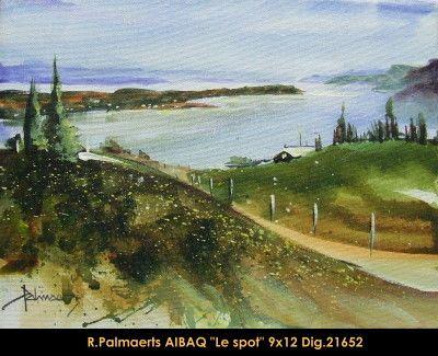 Original multimedium painting on canevas by Roland Pamaerts #Palmaerts #art #figurativeart #CanadianArt #originalartwork #mixtmedia #quebecartist #canadianartist #naturescene #searoad # #contemporaryart #fineart #balcondart #multiartltee