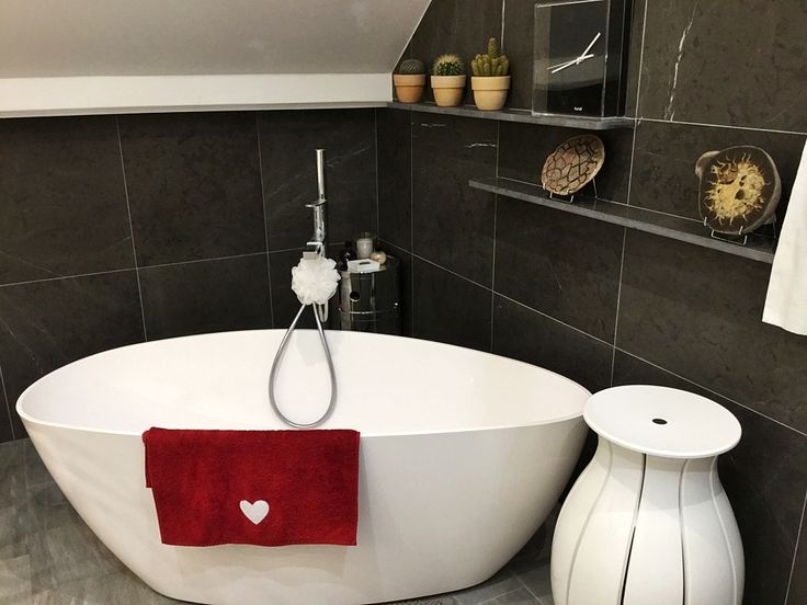 bathroom, bagno Blanco Paloma e Pietra Grey