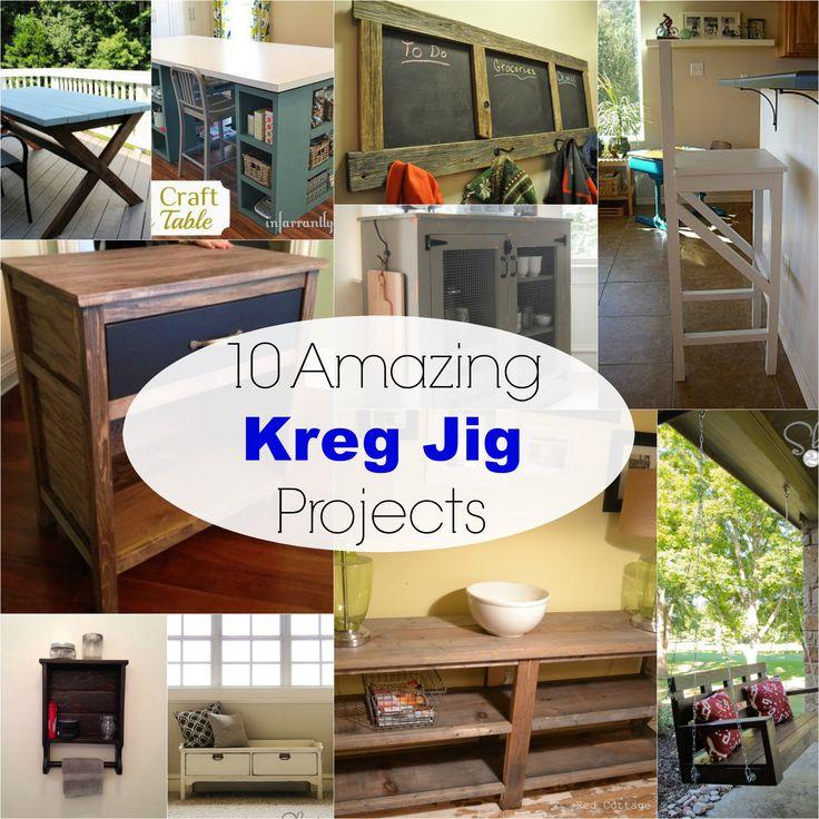 10 Amazing Kreg Jig® Projects