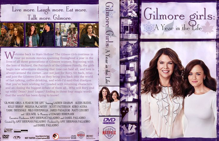 Gilmore Girls: A Year in the Life Complete Box Set by TheMadHallow