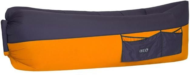 ENO Billow Air Lounge Inflatable Couch Orange/Charcoal