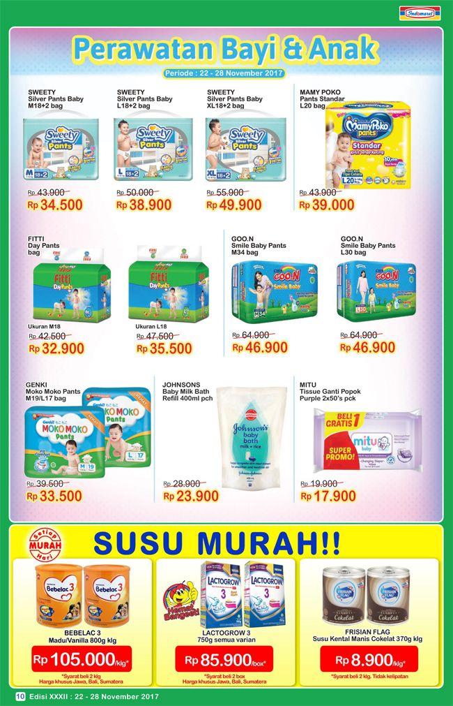 Promo #SuperHemat Perawatan Bayi & Anak  Periode : 22 - 28 November 2017
