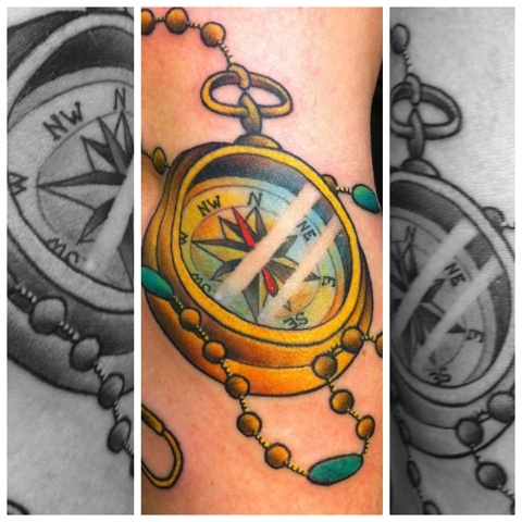 Compass by Dragon Tattoo Eindhoven