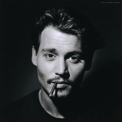 Johnny Depp always looks amazing in black & white photography ..have you noticed ?
