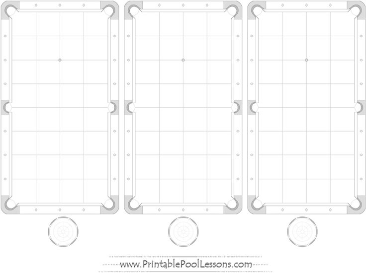 copc table f template - 10 best images about printable pool table pdfs on