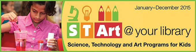 Mad Science of St. Louis is excited to be part of STArt at St. Louis County Library!