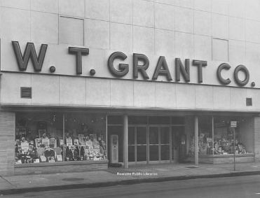 """In 1906 the first """"W. T. Grant Co. 25 Cent Store"""" opened in Lynn, Massachusetts. Modest profit, coupled with a fast turnover of inventory, caused the stores to grow to almost $100 million annual sales by 1936, the same year that William Thomas Grant started the W. T. Grant Foundation. By the time Grant died in 1972 at age 96, his chain of W. T. Grant Stores had grown to almost 1,200."""