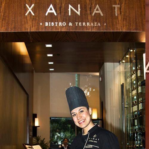 La chef Jennifer L. Fernández de Xanat Bistro y Terraza