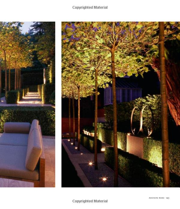 Beautiful garden lighting