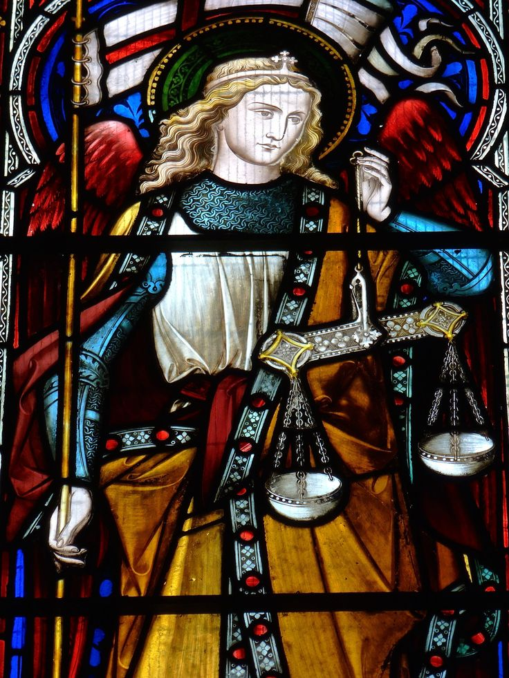 https://flic.kr/p/F6QN2L | Retford - St Michael the Archangel - Nottinghamshire. | St Michael the Archangel, Retford, Nottinghamshire.  The Parish Church of West Retford.  St Micheal Window - Undated.  The East window depicts St Michael and was designed by the architect William Butterfield, in memory of the Rev'd Charles Dales Butterfield, Rector of this parish from 1857-1867.    Detail: Archangel Michael.