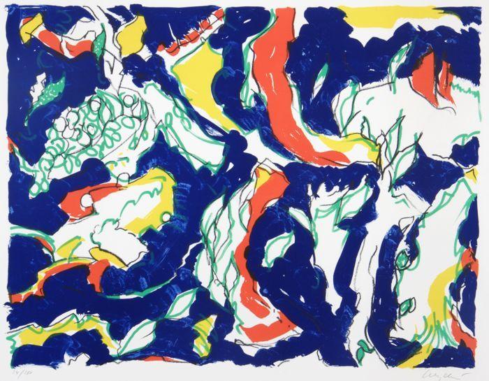 Online Veilinghuis Catawiki Maurice Wyckaert 1923 1996 Zonder Titel Abstract Schilderen Kunst Ideeen Kunst