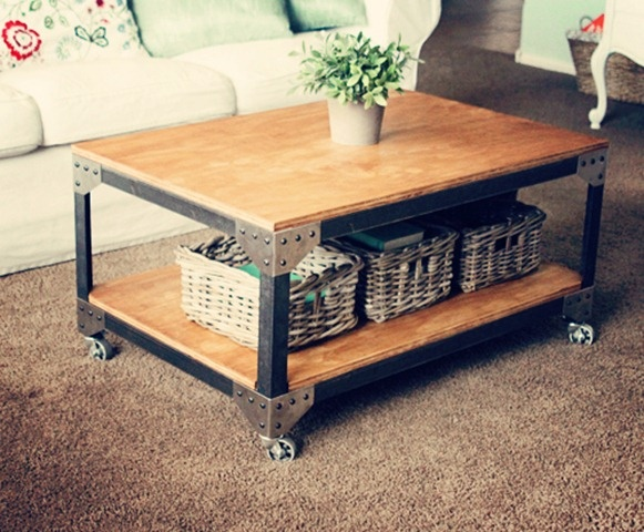 industrial diy furniture. awesome diy industrial coffee table diy furniture e