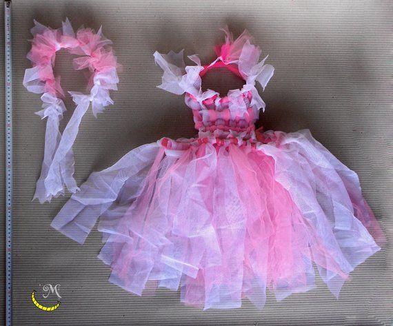 Mia E ME rosa fata ragazze Costume Bambino Costume Vestito Da Festa Bambini Classic
