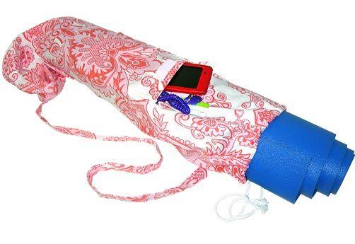 yoga mat bag-- i'm so making this.