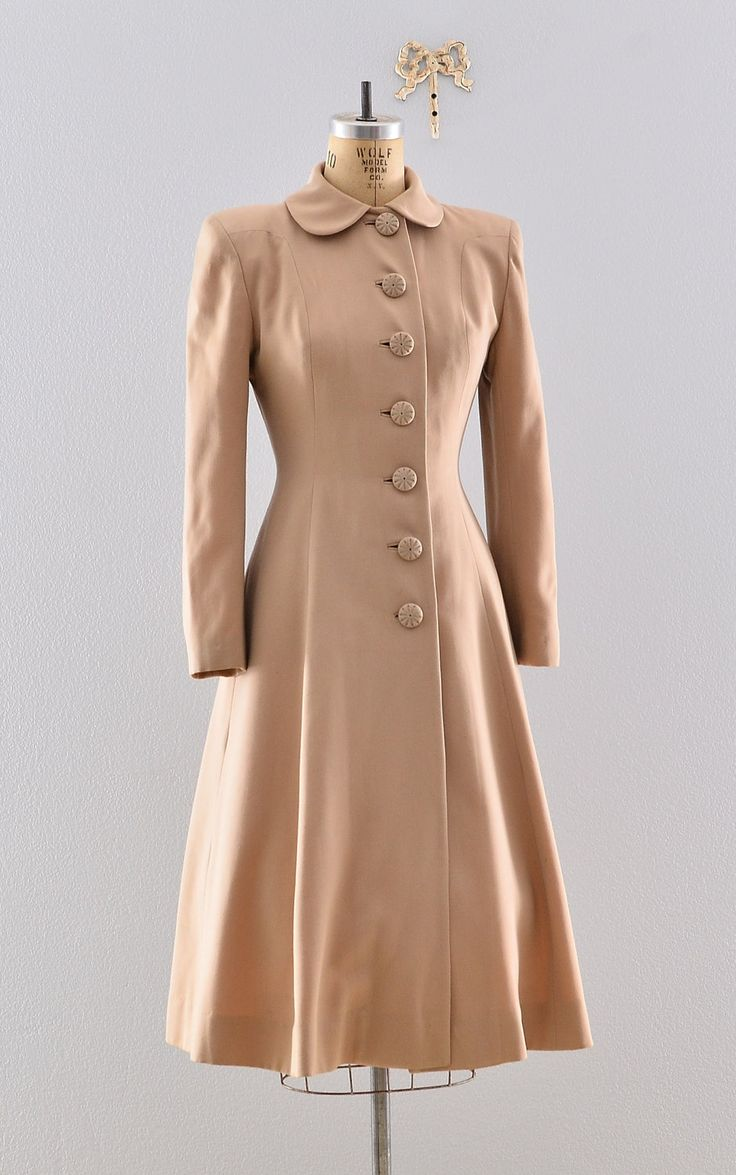 1940s Princess Coat.