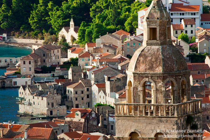 Croatian sailing itinerary: Komiza