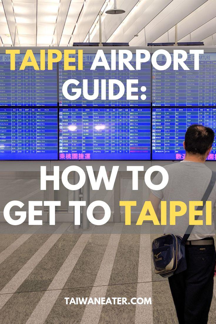 Taipei Taoyuan Airport Guide Taipei Airport To City Airport