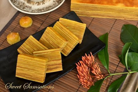 From Sweetsamsations.com -- Kue Lapis Legit -- Classic Indonesian delicacy