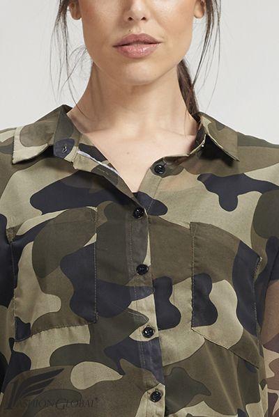 Camisa militar de mujer manga larga, con dos bolsillos, de poliéster. 29.90€  ENVÍOS A TODO EL MUNDO. PAGOS: tarjetas crédito y débito.  https://www.1fashionglobal.net/todomodaonline/tienda/