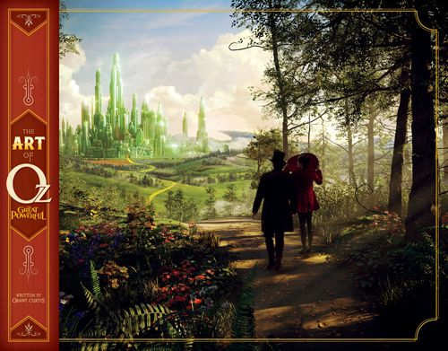 Oz Buchtipp: The art of Oz The Great and Powerful  I #OZ ©Disney