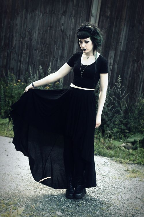 #GothicFashion                                                                                                                                                                                 More