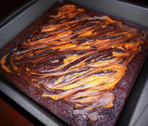 Cheesecake Brownies - Gluten Free! #pumpkin #brownies #cheesecake ...